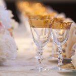 wedding glassware