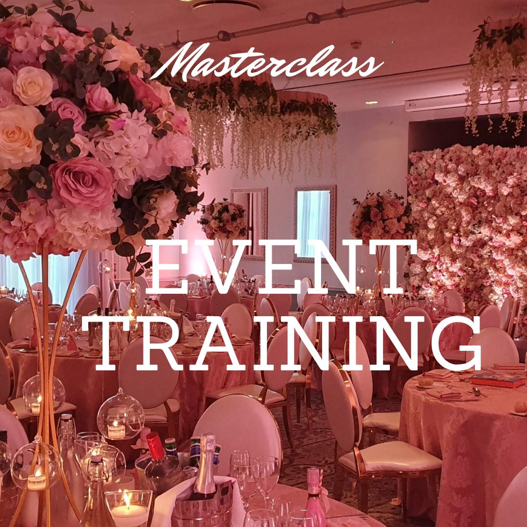 wedding planning training